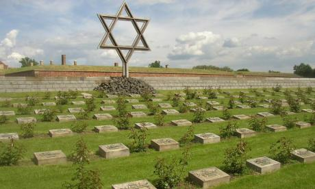 Holocaust victims are buried in several cemeteries across Europe, including this one in Terezin, Czech Republic