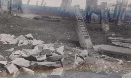 Meir Bulka is campaigning for the gravestones to be returned