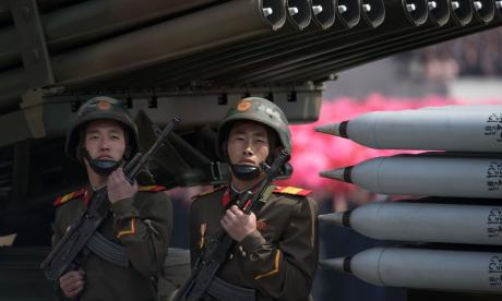 North Korea has warned it is ready to launch a pre-emptive strike on the US