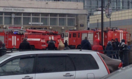 BREAKING: At least ten killed in St Petersburg metro explosion - reports