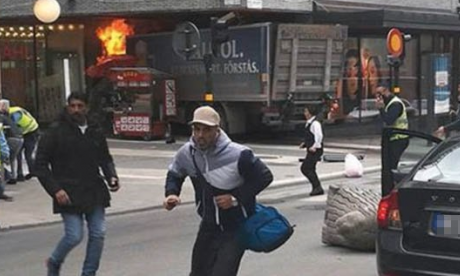 BREAKING: Truck ploughs into pedestrians in Stockholm, crashes into shopping centre