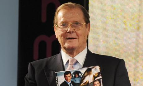 'Roger Moore pioneered the look to camera and sharing of the joke', says journalist