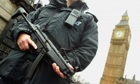 Armed police given new training on how to tackle terrorists in vehicles