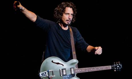 Chris Cornell was 'more upbeat than usual' during Soundgarden's performance last night