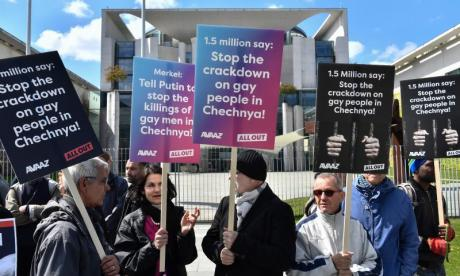 European Parliament calls on Moscow to investigate torture of LGBT people in Chechnya