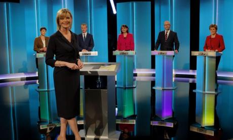 Theresa May accused of cowardice after no-show at Leaders Debate