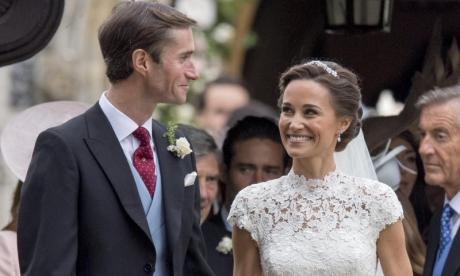 Pippa Middleton's wedding reception included models, a glass marquee and a Spitfire fly-by