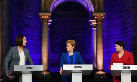 Scottish Leaders Debate: Ruth Davidson condemns Nicola Sturgeon for 'duping' Scotland over independence vote
