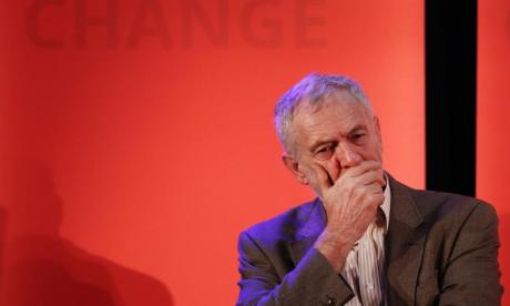 Jeremy Corbyn addressed a large audience in Manchester