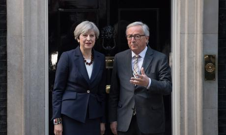 A report of last week's meeting claims Jean-Claude Juncker was aghast at Theresa May's attitude