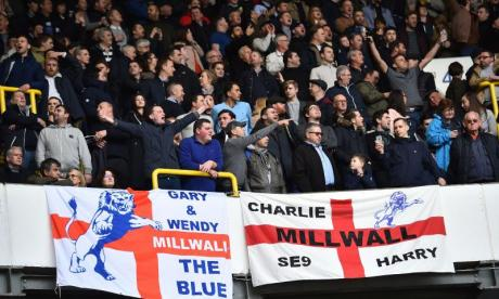 Millwall fans want the club to stay in Bermondsey
