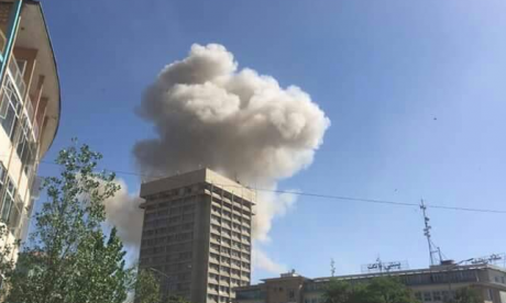 Massive explosion rocks diplomatic area of Kabul