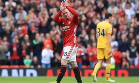 Wayne Rooney made his donation alongside the collective pledge by United and City