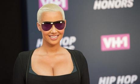 Amber Rose bore all over the weekend - and sparked predictable outrage