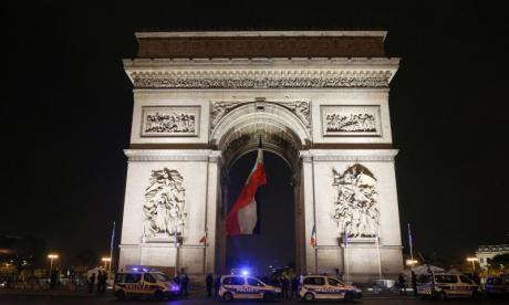 The Champs Elysees, which culminates in the Arc de Triomphe (seen here in this stock photo) is one of Paris's most iconic landmarks
