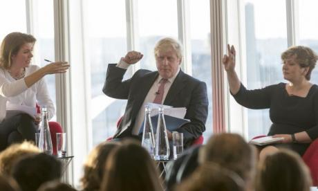 SunTalks: Emily Thornberry snaps at Boris Johnson in debate