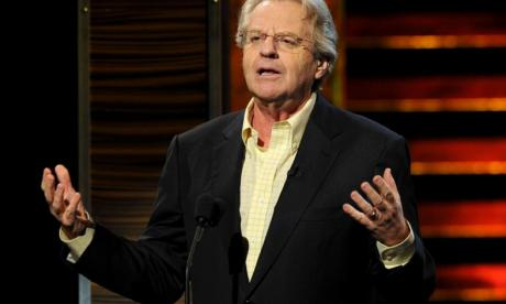Jerry Springer on World Jewish Relief and dealing with 'divided society'