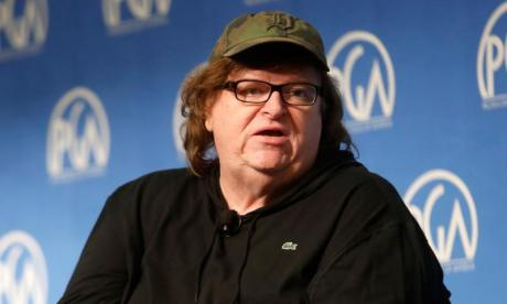 Filmmaker Michael Moore launches Trumpileaks website for Trump administration whistleblowers