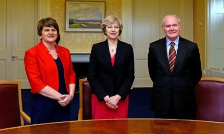 Theresa May and Arlene Foster to meet in Downing Street to discuss vital deal to support Government