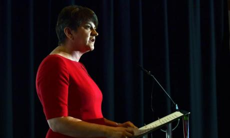 Arlene Foster claims Tory-DUP deal is close to being finalised
