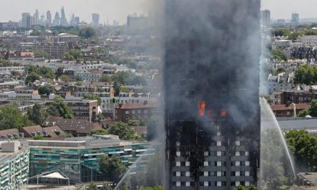Grenfell Tower eyewitness says people were screaming from the building for hours, whilst others jumped out