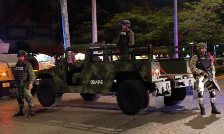 Delinquents face off against police in Cancun gunfight in Mexico tourist hotspot of Cancun