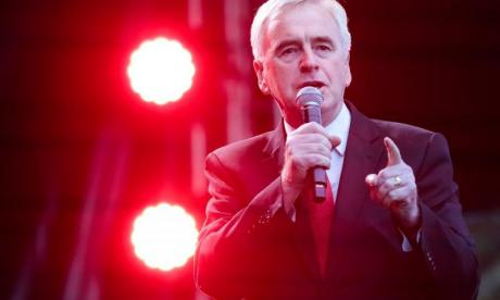 John McDonnell believes Day of Rage protesters are within their rights - as long as they remain peaceful