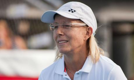 Martina Navratilova won 18 Grand Slams during her playing career