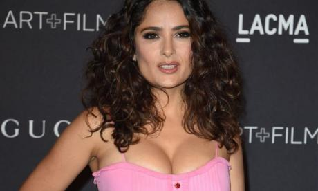 Salma Hayek was invited out by Donald Trump and rejected him