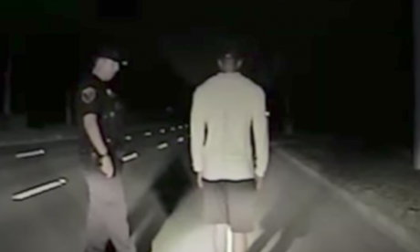 Florida police release dash cam footage of Tiger Woods' arrest
