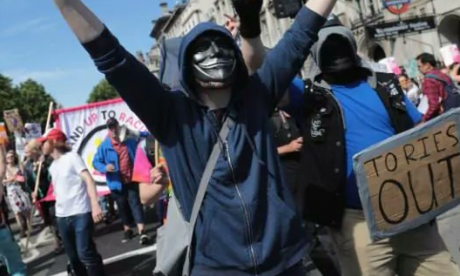 Julia tells Day of Rage protest leader 'you are inciting violence with your choice of name'