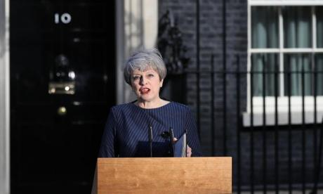 May said terrorists must be deprived of safe spaces