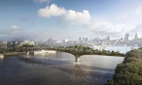 The Garden Bridge project has been backed by Boris Johnson amongst others (Wikipedia)