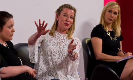 Katie Hopkins provokes firestorm after meeting members of far-right group