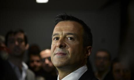 Company of Cristiano Ronaldo agent Jorge Mendes being investigated by Portuguese tax authorities