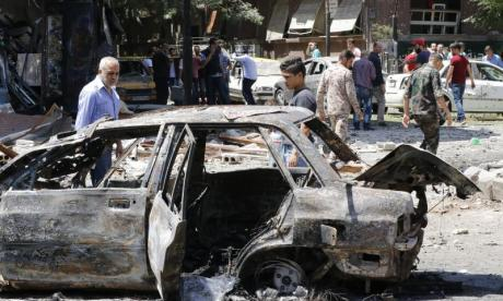 Car bomb detonation near Aleppo kills four people