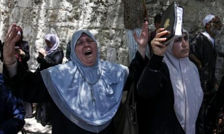 Al-Aqsa mosque compound reopens but new security measures mean many refuse to enter
