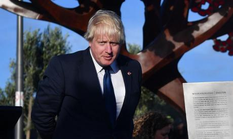 Boris Johnson described as eccentric and flamboyant by New Zealand media after making Maori joke