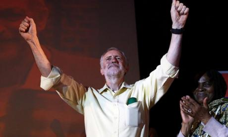 Corbyn has enjoyed a meteoric rise in recent weeks