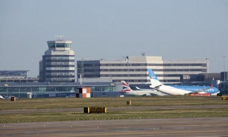 Manchester Airport was the scene of an evacuation this morning