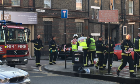 Two men brought to hospital in east London after suspected acid attack