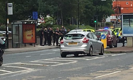 Manchester Police taser man allegedly carrying knife and crossbow in city centre