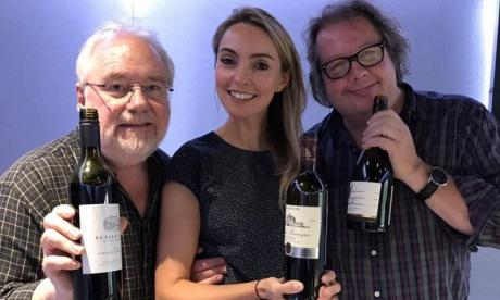 As Mike Parry reviews the latest TV, Mike Graham enjoys wine tasting