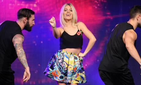 Frankie Bridge leads Twitter praise for Mollie King after Strictly Come Dancing announcement