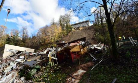 Eight still missing after Switzerland mudslide