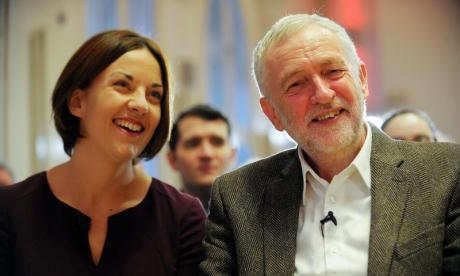 Jeremy Corbyn thanks Kezia Dugdale for her 'tireless service' to Labour