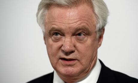 David Davis suggests UK could keep custom union agreements for short time post-Brexit