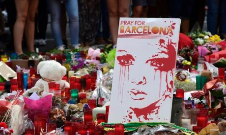 Las Ramblas was attacked last Thursday