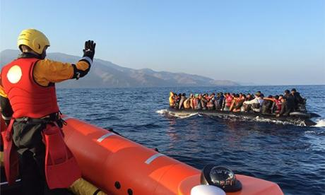 The boat was allegedly freed after a couple of hours