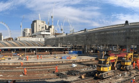 'This is most irregular' - Commuters through Waterloo report unexpected lack of travel chaos as engineering work starts